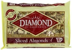 Diamond Sliced Almonds, 10-Ounce
