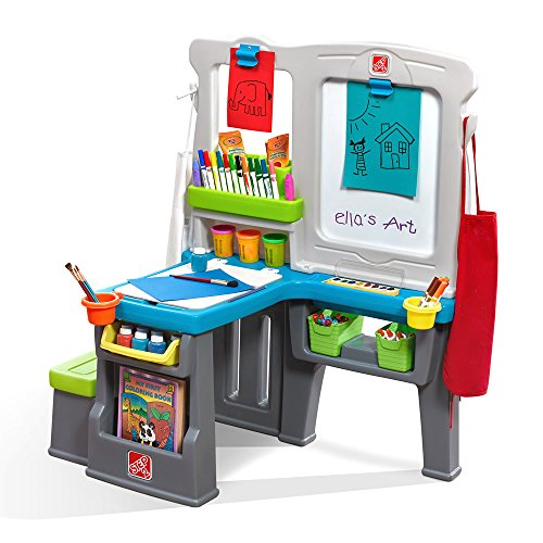 Step2 Great Creations Art Center Art Desk Easel]()