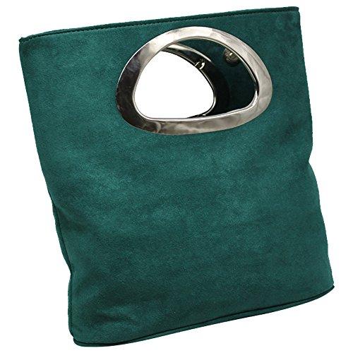 Women's Handbags Deep Suede Tote green Quality Leather Wocharm Fantastic Designer Evening Large Clutch Bag Bag Best ptCqTfw