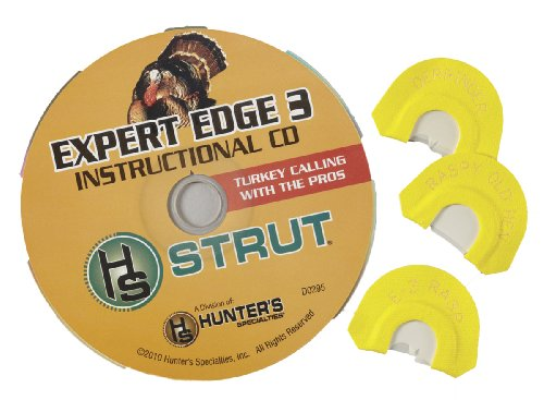 Strut Turkey (H.S. Strut Expert Edge 3 Turkey Diaphragm Combo Pack by Hunter's Specialties)