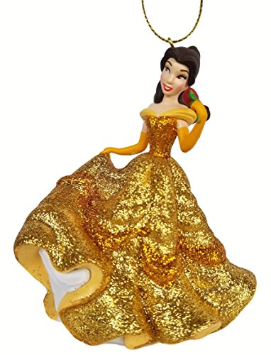 Belle - in Ballgown (Princess) Figurine Holiday Christmas Tree Ornament - Limited Availability - New for ()