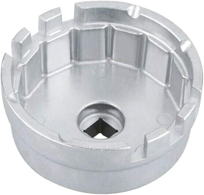 THE BEST DAY /Ölfilterschl/üssel Cup-Buchse Remover-Tool f/ür Toyota Lexus 65mm 14 Fl/öten