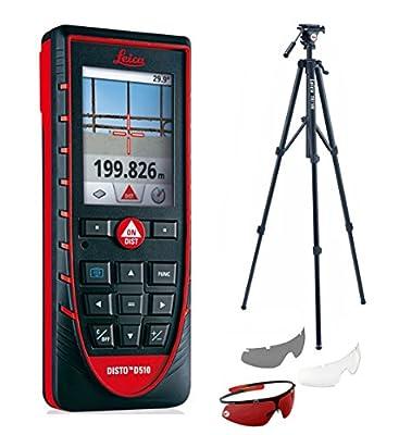 Leica Disto E7500i Laser Distance Meter With GLB30 Glasses & TRI100 Tripod