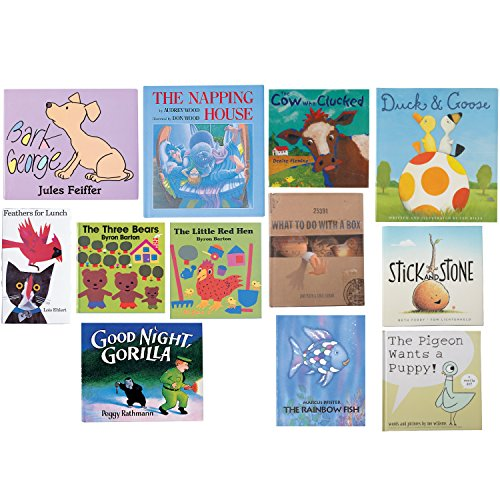 Constructive Playthings BOK-10 Classroom Essentials Complete Hardcover Story Books, Grade: Kindergarten to 3, Set of 12 by Constructive Playthings