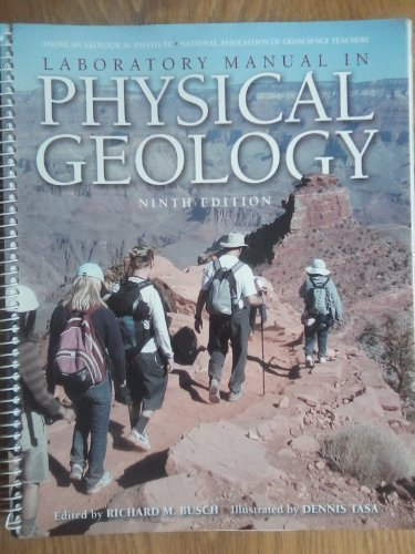 Laboratory Manual in Physical Geology 9th Edition by American Geological Inst., AGI -, National Association o [Spiral-bound]