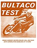 BULTACO 125cc GP RACER TEST REPORT 1966