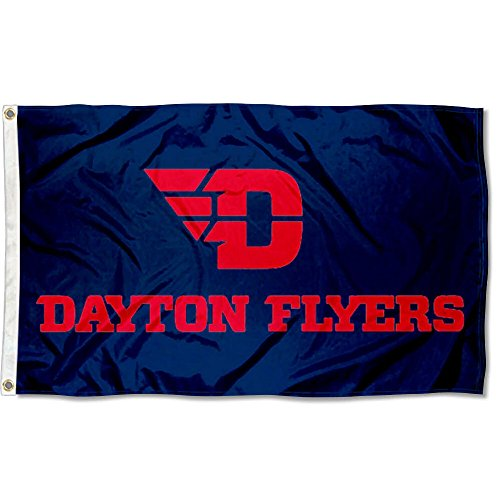 Dayton Flyers Red Letters Flag Review