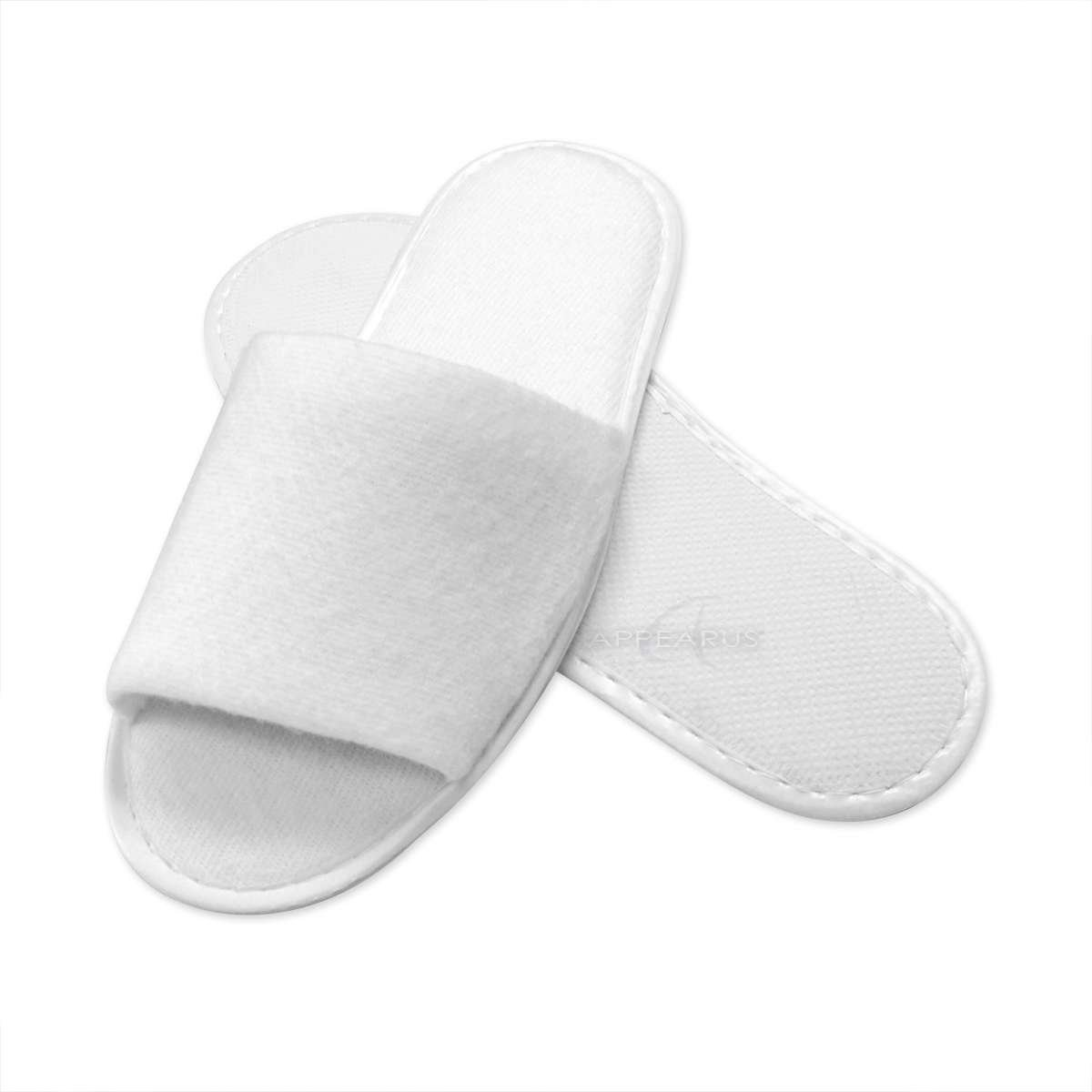Appearus Disposable Spa slippers, Open toe (50 Pairs) by Appearus (Image #1)
