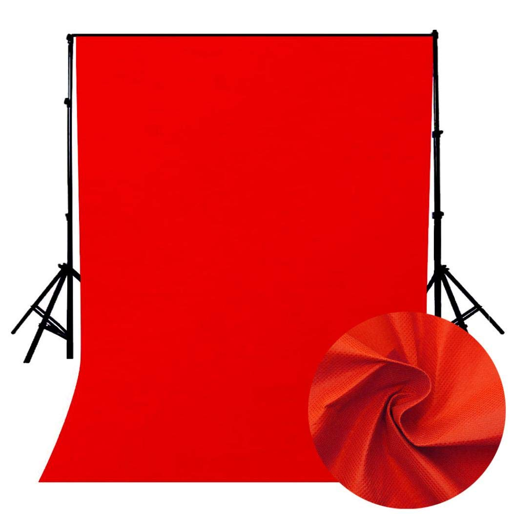 Vacally Photography Studio Background Pure Color Photography Backdrops Studio Props Art Poster Print Wall Photo Picture160200cm (Pink)
