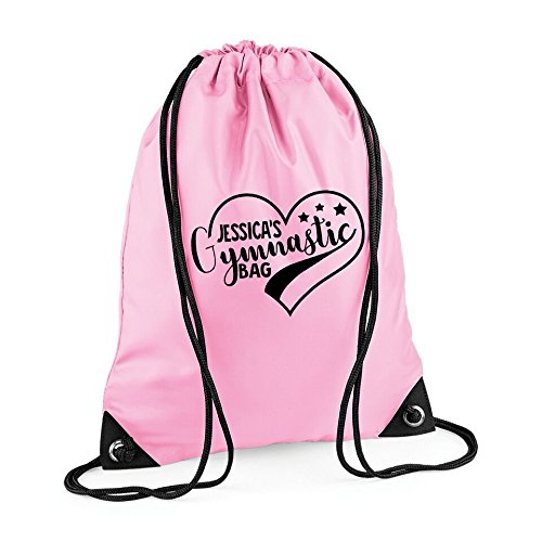 8d9fac29ca5 Image Unavailable. Image not available for. Colour  Personalised Name  Gymnastics Kids Bag ...