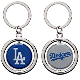 MLB Los Angeles Dodgers Baseball Spinner Keychain, Blue, One Size