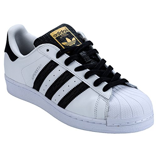 adidas Superstar Foundation Herren Sneakers weiß/schwarz