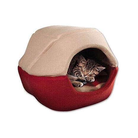 AOLVO - Cubo de Cama para Gatos, cómodo sofá Cama para Mascotas, Suave para