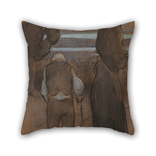 Loveloveu Pillow Cases 16 X 16 Inches / 40 By 40 Cm(both Sides) Nice Choice For Floor,gril Friend,study Room,him,home,wedding Oil Painting Ramon Pichot Gironés - (Twilight Tye Dye)