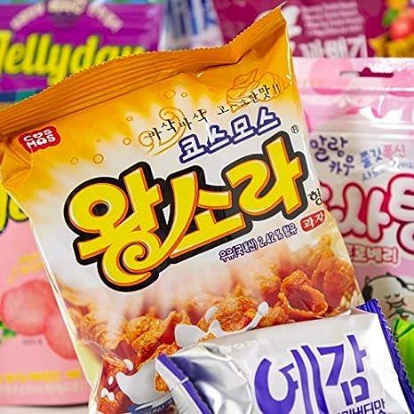 Dalgona - Paquete sorpresa con 20 dulces coreanos - sabores y especialidades seleccionadas en una caja sorpresa versátil: Amazon.es: Hogar