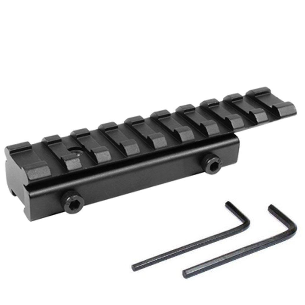 Carril del tejedor Rifle de alcance adaptador 11 mm Pad - 20 mm Rail Field Sports Online