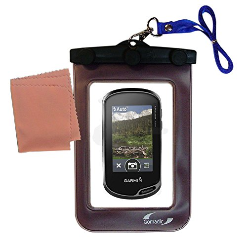 Outdoor Gomadic Waterproof Carrying Case Suitable for the Garmin Oregon 750 / 750t to use Underwater - keeps device clean and dry - Waterproof Pda Case