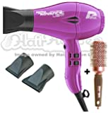 Parlux Advance Light Ionic and Ceramic Hair Dryer - Purple + Free Brush