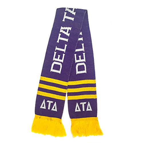 Delta Tau Delta Fraternity Letter Winter Scarf Greek Cold Weather Winter Officially (Tau Greek Letter)