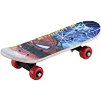 Adventure toy Skateboard with Design (Multicolour, Large)