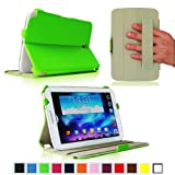 Fintie ClickBook Series Folio Hardback Case with Built-in Stand Auto Wake/Sleep for Samsung Galaxy Note 8.0 inch Tablet GT-N5100 / N5110 - Green