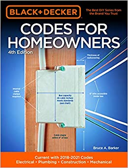 Black Decker Codes For Homeowners 4th Edition Current With 2018