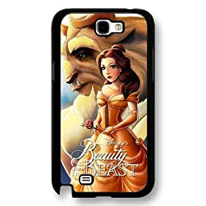 Disney Cartoon Beauty and The Beast, Hard Plastic Case for Iphone 5/5S