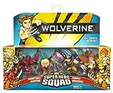 Wolverine Super Hero Squad Sabretooth DeadPool Phoenix Wolverine