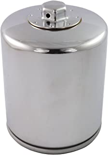 replaces # 63796-77A and 63806-83 Set of 6 chrome oil filter for Harley