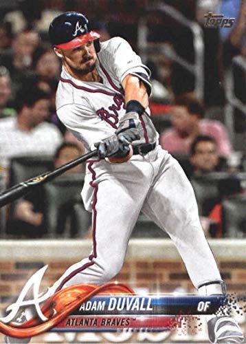 2018 Topps Update and Highlights Baseball Series #US171 Adam Duvall Atlanta Braves Official MLB Trading Card