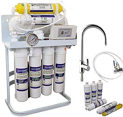 Quick Change Osmose Inverse Osmose Inverse installation Filtre à Eau Filtres de rechange Set 5 niveaux
