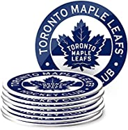 Toronto Maple Leafs Eight Pack Coaster Set