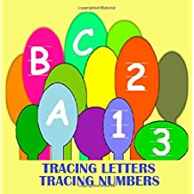 Abc 123: Letter Tracing and Number Tracing in this ABC123 book. ABC alphabet and numbers - activities for kids. Tracing letters in upper and lower case - tracing numbers zero thru nine. Pre k worksheets good for Pre K activities. Letter tracing and number tracing.