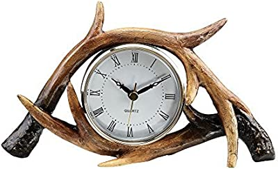 Antler Table Clock by SPI Home