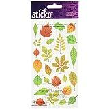 Ek Success Sticko Elegant Fall Leaves Stickers