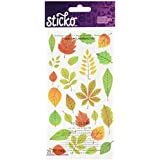 Sticko Elegant Fall Leaves Stickers