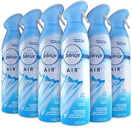 Febreze AIR Effects Air Freshener Linen & Sky, 8.8 oz (Pack of 6)
