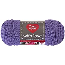 RED HEART With Love Yarn, Lilac