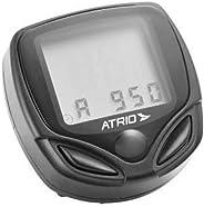 Atrio BI043 Ciclocomputador com Suporte 15 funções , 65-95cm, Preto