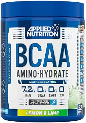 Applied Nutrition BCAA 450 g Lemon and Lime Amino-Hydrate Sports Supplement by Applied Nutrition