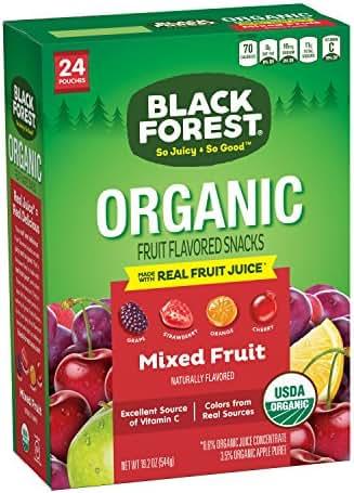 Fruit Snacks: Black Forest Organic Fruity Bites