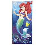 "Disney Little Mermaid Ariel Coral Reef 2 Pack of Cotton Bath, Pool, Beach Towels 28"" x 58"" each (Pack of 2 Beach Towels)"