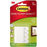 Command Picture Hanging Strips, Small, White, 4-Strip, 9-Pack (36 Pairs Total)