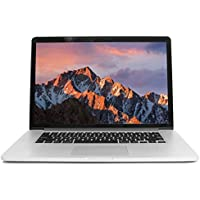 Apple MacBook Pro 15 2.6GHz i7 Retina (BTO/CTO), 16GB Memory, 256GB Solid State Drive, MacOS 10.12 Sierra (Certified Refurbished)