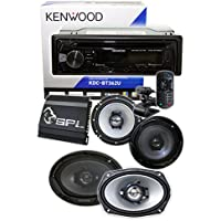Kenwood KDC-BT362U w/ USB Interface + 1 Pair Kenwood 6X9 + 1 Pair Kenwood 6.5 + SPL Amp 4 Channel 900 Watts***