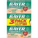Aspirin Regimen Bayer 81mg Chewable Tablets   #1