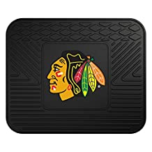 FANMATS NHL Chicago Blackhawks Vinyl Utility Mat