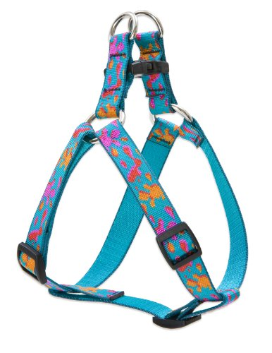 3 4\ LupinePet Originals 3 4  Wet Paint 20-30  Step in Harness for Medium Dogs
