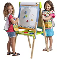ECR4Kids 3-in-1 Premium Standing Adjustable Art Easel with Accessories