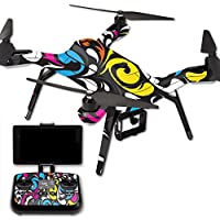 MightySkins Protective Vinyl Skin Decal for 3DR Solo Drone Quadcopter wrap cover sticker skins Swirly